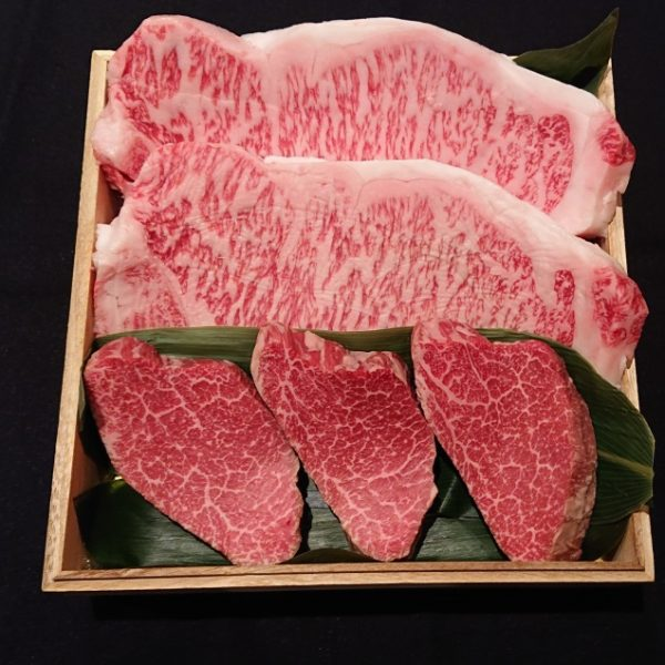 ながさき和牛 ステーキカット サーロイン・フィレセット